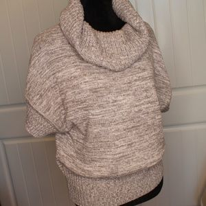 Cute Grey Cowl Neckline Sweater